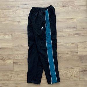 ▪️🔹Vtg 90s Adidas Polyester Zip Sweatpants (Sz S)